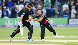 Somerset's Lewis Gregory collides with Sussex's Chris Nash.  - Mandatory by-line: Alex Davidson/JMP - 01/06/2016 - CRICKET - The 1st Central County Ground - Hove, United Kingdom - Sussex v Somerset - NatWest T20 Blast