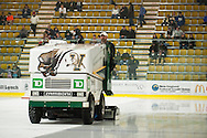 The Hockey East quarter final men's hockey game between the Maine Black Bears and the Vermont Catamounts at Gutterson Field House on Sunday night March 8, 2015 in Burlington, Vermont.