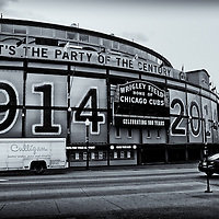 Wrigley Field Edited & converted to B&W 2/27/15