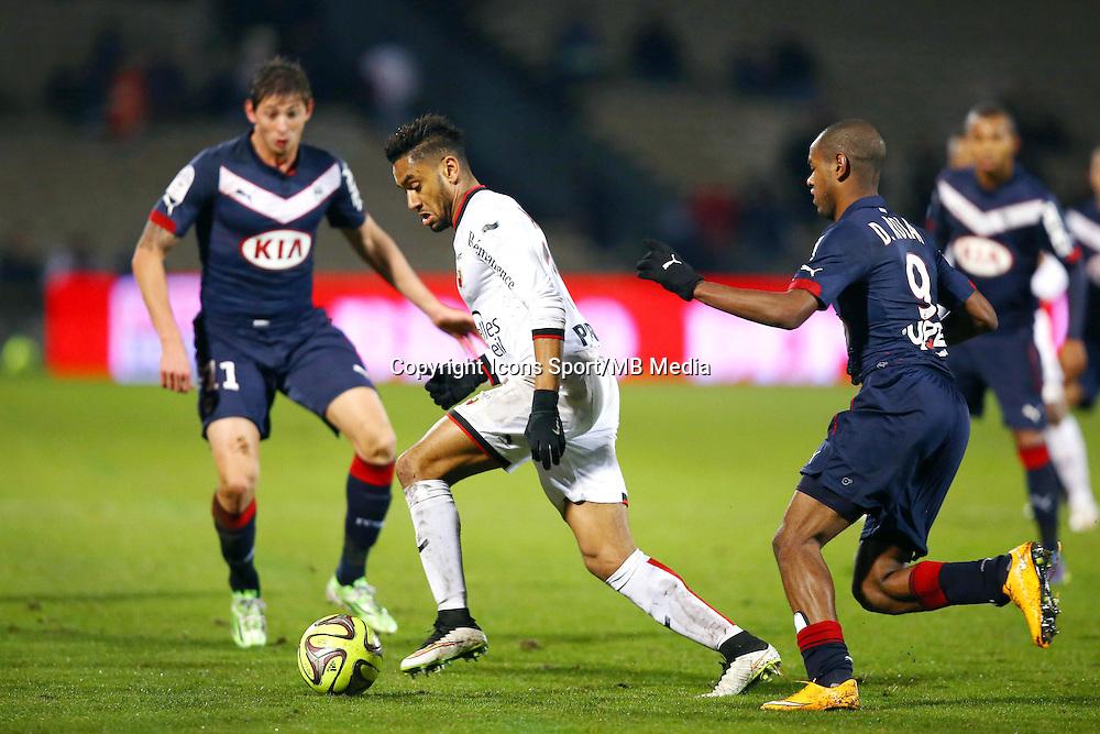 Jordan Amavi - 16.01.2015 - Bordeaux / Nice - 21e journee Ligue 1<br />Photo : Manuel Blondeau / Icon Sport