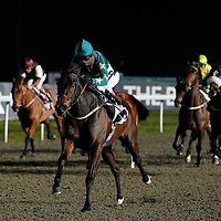Bouyrun and Hayley Turner winning the 6.30 race
