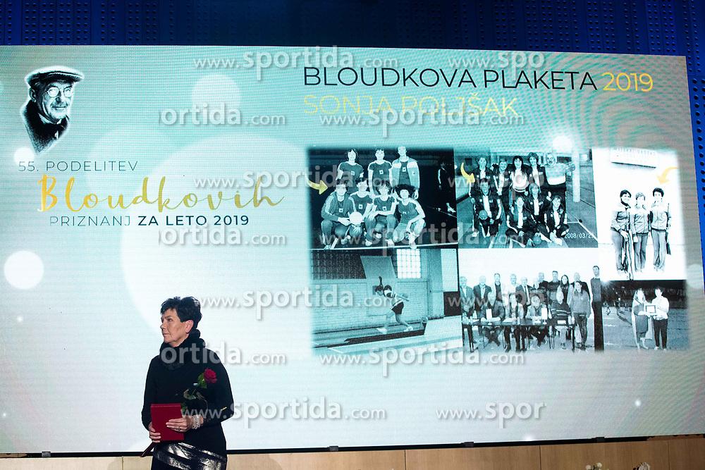 Sonja Poljansek at 55th Annual Awards of Stanko Bloudek for sports achievements in Slovenia in year 2018 on February 4, 2020 in Brdo Congress Center, Kranj , Slovenia. Photo by Grega Valancic / Sportida