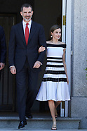 061317 Spanish Royals Attend an official lunch with President of Peru, Pedro Pablo Kuczynski