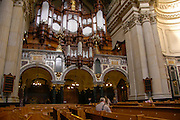 Berlin cathedral (Berliner Dom), Germany. The large Sauer Organ with 7269 pipes