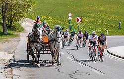 25.04.2018, Breitenbach, AUT, ÖRV Trainingslager, UCI Straßenrad WM 2018, im Bild v.l.: Thomas Rohregger (AUT), Mario Gamper (AUT) // during a Testdrive for the UCI Road World Championships in BREITENBACH, Austria on 2018/04/25. EXPA Pictures © 2018, PhotoCredit: EXPA/ JFK