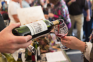 Wine Tasting Tent at the Blueridge Wine Festival in Blowing Rock NC