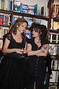 ALLIE ESIRI; HELENA BONHAM-CARTER Allie Esiri's The Love Book launch party , Daunt Books <br /> 83 Marylebone High Street, London. 5 February 2014