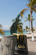 """Nostalgia"" by Mexican artist, Ramiz Barquet, The Malecon, Puerto Vallarta, Jalisco, Mexico"