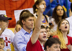 Vladimir Boisa and his brother Anatolij during basketball match between National teams of Croatia and Georgia in Round 1 at Day 2 of Eurobasket 2013 on September 5, 2013 in Arena Zlatorog, Celje, Slovenia. (Photo by Vid Ponikvar / Sportida.com)