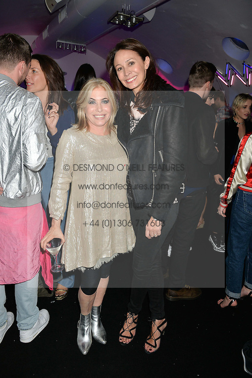 Left To Right BRIX SMITH START And CAROLINE RUSH At A Party Celebrate 10