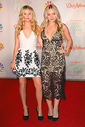 Celebrities attend the premiere of 'Dolly Parton's Christmas of Many Colors: Circle of Love' at Dollywood in Tennessee, TN. 22 Nov 2016 Pictured: Emily Alyn Lind, Natalie Alyn Lind. Photo credit: American Foto Features / MEGA TheMegaAgency.com +1 888 505 6342