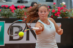 May 17, 2018 - Rome, Rome, Italy - 17th May 2018, Foro Italico, Rome, Italy; Italian Open Tennis; Daria Kasatkina (RUS) during her match lost 6-0, 6-3, 6-2 against Elina Svitolina (RUS)  Credit: Giampiero Sposito/Pacific Press (Credit Image: © Giampiero Sposito/Pacific Press via ZUMA Wire)