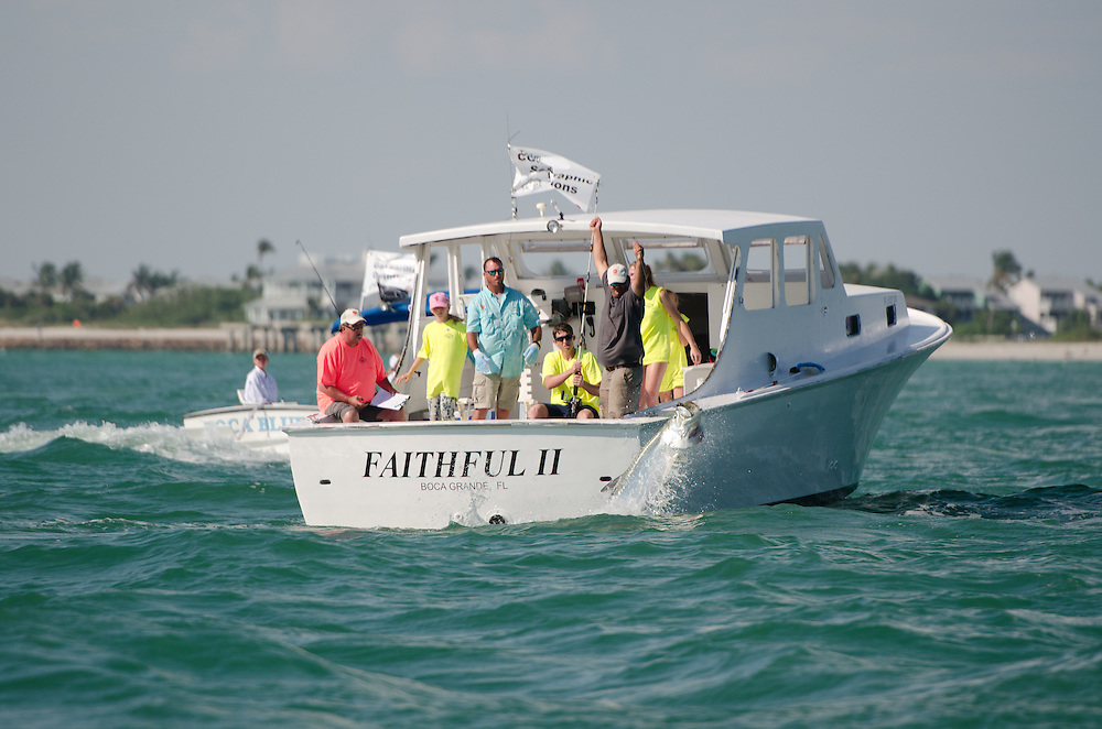 Gasparilla Island Kids Classic Tarpon Tournament 2012
