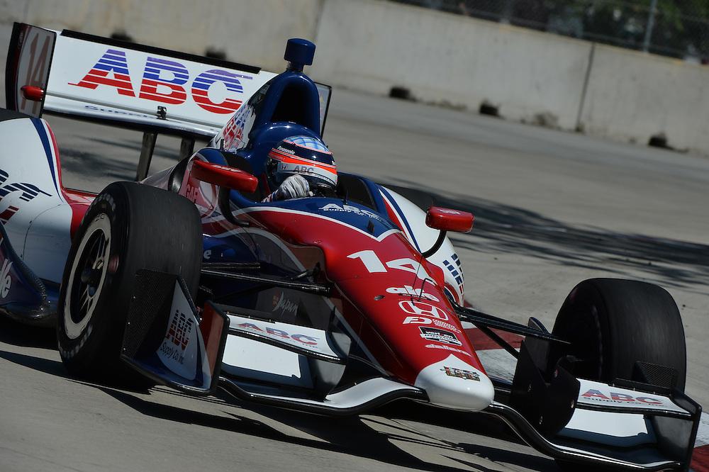 Takuma Sato, Raceway at Belle Isle Park, Detroit, MI USA 6/1/2014
