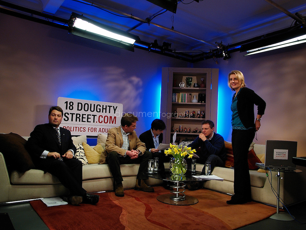 www.18doughtystreet.com.9:00PM  Blogger TV.Zoe Phillips is joined by bloggers Adrian Monck, William Luckman and James Oates for this week's Blogger TV.