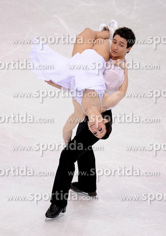 27.03.2010, Torino Palavela, Turin, ITA, ISU World Figure Skating Championships Turin 2010, Ice dance free dance, im Bild Tessa Virtue and Scott Moir (CAN gold medal. EXPA Pictures © 2010, PhotoCredit: EXPA/ InsideFoto/ Perottino / SPORTIDA PHOTO AGENCY