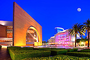 Segerstrom Center for the Arts at Night in Costa Mesa California