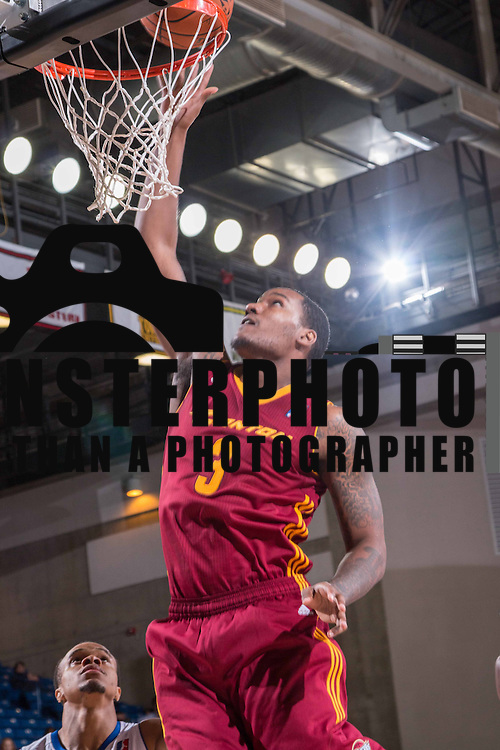 Canton Charge Forward JUVONTE REDDIC (3) drives to the basket during the third period of a NBA D-league regular season basketball game between the Delaware 87ers (76ers) and the Canton Charge (Cleveland Cavaliers) Tuesday, Nov. 17, 2015, at The Bob Carpenter Sports Convocation Center in Newark, DEL
