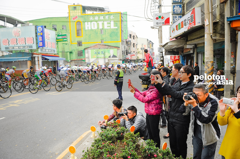 2014 Tour de Taiwan / stage3 / Taiwan / crowd