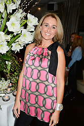 SARA MADDERSON at a party to launch Madderson London Women's Wear held at Beaufort House, 354 Kings Road, London on 23rd January 2014.