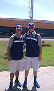 Marco, Bobby Wahl (Ole Miss) in front of Havana Airport