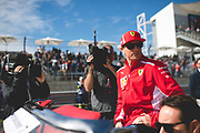 October 18-21, 2018: United States Grand Prix. Kimi Raikkonen (FIN), Scuderia Ferrari, SF71H