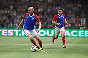 Zinedine Zidane (France 98), Bixente Lizarazu (France 98) during the 2018 Friendly Game football match between France 98 and FIFA 98 on June 12, 2018 at U Arena in Nanterre near Paris, France - Photo Stephane Allaman / ProSportsImages / DPPI