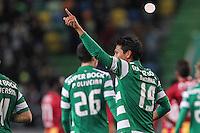 Junya Tanaka - 18.01.2015 - Sporting / Rio Ave FC - Liga Sagres -<br /> Photo : Carlos Rodrigues / Icon Sport