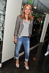 LISA MOORISH at a party to celebrate the launch of Jax Coco - a new soft drink, held at Harvey Nichols 5th Floor Bar, 109-125 Knightsbridge, London on 25th June 2012.