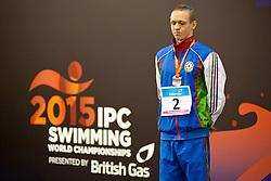 SALEI Raman AZE at 2015 IPC Swimming World Championships -  Men's 50m Freestyle S12