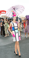 01/08/2013 Laoise O Murchu from Galwayat the Anthony Ryan's Best Dressed on Ladies day at the Galway Races . Picture:Andrew Downes