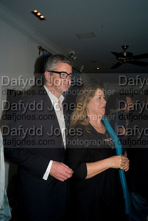 JAY JOPLING; WENDY STARK, Party hosted by Franca Sozzani and Remo Ruffini in honour of Bruce Weber to celebrate L'Uomo Vogue The Miami issuel by Bruce Weber. Casa Tua. James Avenue. Miami Beach. 5 December 2008 *** Local Caption *** -DO NOT ARCHIVE-© Copyright Photograph by Dafydd Jones. 248 Clapham Rd. London SW9 0PZ. Tel 0207 820 0771. www.dafjones.com.