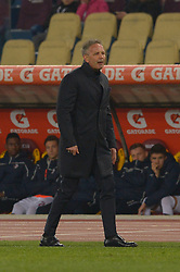 February 18, 2019 - Rome, Italy - Sinisa Mihajlovic during the Italian Serie A football match between A.S. Roma and F.C. Bologna at the Olympic Stadium in Rome, on february 18, 2019. (Credit Image: © Silvia Lore/NurPhoto via ZUMA Press)