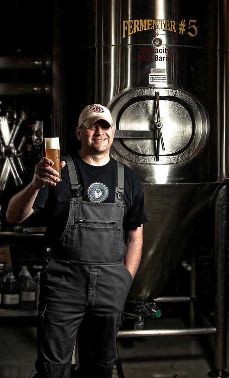 Brewmaster Matt Cole, of Fat Head's Brewery
