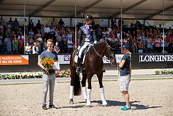 Freese Isabel, NOR, Fuersten Look, breeder, Sabel Johannes<br /> World ChampionshipsYoung Dressage Horses<br /> Ermelo 2018<br /> © Hippo Foto - Dirk Caremans<br /> 05/08/2018