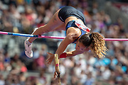Angelica Bengtsson of Sweden, Women's Pole Vault, during the Muller Anniversary Games 2019 at the London Stadium, London, England on 20 July 2019.