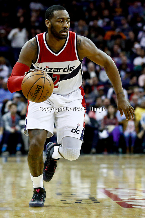 Jan 29, 2017; New Orleans, LA, USA; Washington Wizards guard John Wall (2) against the New Orleans Pelicans during the second quarter of a game at the Smoothie King Center. Mandatory Credit: Derick E. Hingle-USA TODAY Sports