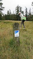 LEUSDEN - 150meter paaltje. Golfclub de Hoge Kleij. COPYRIGHT KOEN SUYK