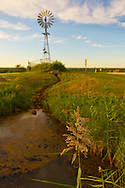South Merrick, New York, USA - September 7, 2014 - A late summer day with pleasant weather at Norman J Levy Park and Preserve marshland on Long Island, New York.