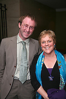 Rachel Verney (Nordoff-Robbins Outreach) and Simon Procter