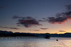 """Sunrise at Lake Tahoe 4"" - This sunrise was photographed in Tahoe City, Lake Tahoe."