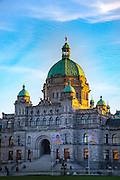 Parliment Building, Victoria, Harbor, Vancouver Island, Brithish Columbia, Canada
