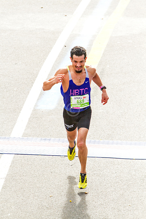 ING New York CIty Marathon: Adolfo Munguia, Mexico