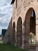 Kloster Lorsch, Rest der Kirche, UNESCO Weltkulturerbe, Hessen, Deutschland | Lorsch Abbey, remains of church, a UNESCO World Heritage Site, Hessen, Germany
