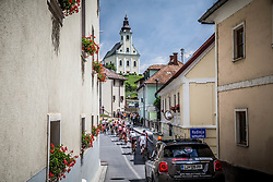 Peloton during Stage 3 of 24th Tour of Slovenia 2017 / Tour de Slovenie from Celje to Rogla (167,7 km) cycling race on June 16, 2017 in Slovenia. Photo by Vid Ponikvar / Sportida