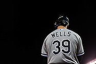 Casper Wells #39 of the Chicago White Sox waits on-deck during a game against the Minnesota Twins on May 13, 2013 at Target Field in Minneapolis, Minnesota.  The Twins defeated the White Sox 10 to 3.  Photo: Ben Krause