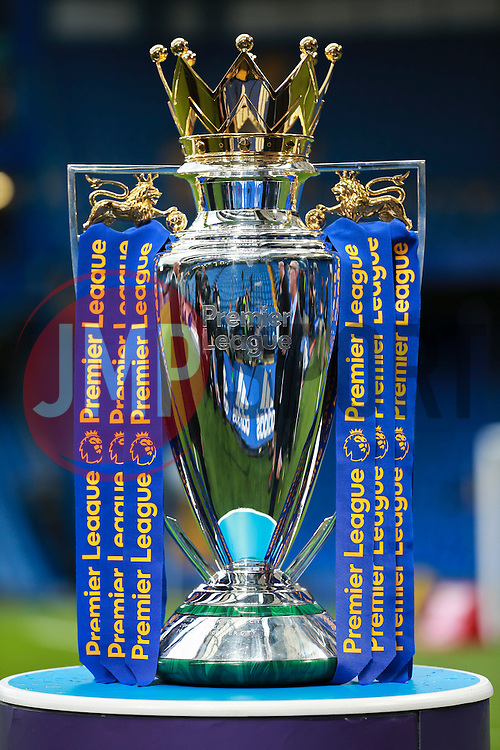Premier League Cup on display at Stamford Bridge - Mandatory by-line: Jason Brown/JMP - 16/09/2016 - FOOTBALL - Stamford Bridge - London, England - Chelsea v Liverpool - Premier League