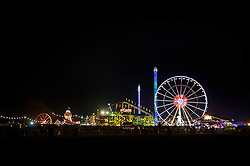 A general view of Hyde Park Winter Wonderland in London.