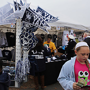 Yale merchandise for sale at the entrance to the stadium before the Yale V Brown, Ivy League Football match at Yale Bowl. Yale won the match 24-17. New Haven, Connecticut, USA. 9th November 2013. Photo Tim Clayton