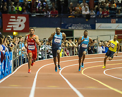 Millrose Games: mens 300m, Lalonde Gordon wins
